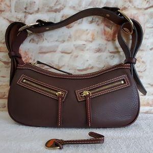 Dooney & Bourke Chocolate Shoulder Bag